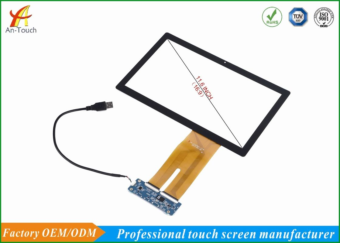 High Sensitive Usb Capacitive Touch Panel 11.6 Inch Replacement For POS Machine