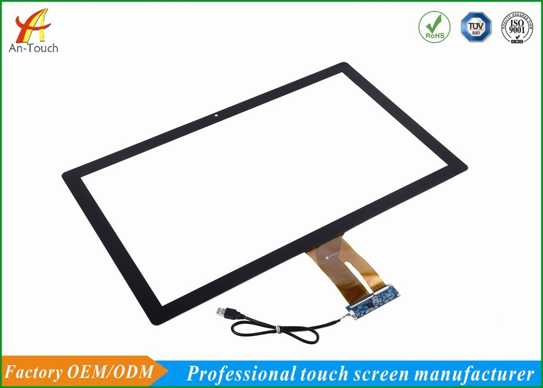 Long Life Industrial Touch Panel , 27 Inch Touch Screen With USB Scratch Resistant