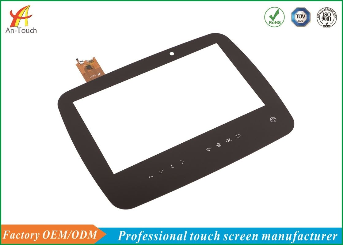 Open Frame Usb Capacitive Touch Screen 13.3 Inch Black Border For Medical Equipment
